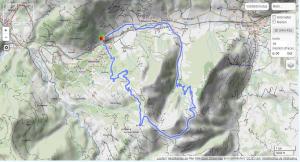 GPSies Map Westendorf Kreuzjöchlsee