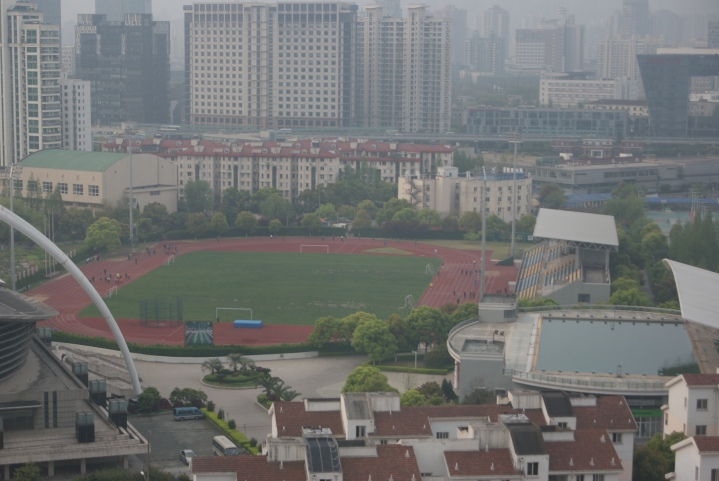 Morgensport in Shanghai