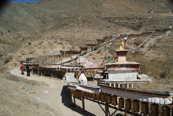 Tasilhünpo Monastery Chora: Ein kleiner Trail Run