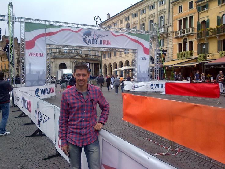 Am Start in Verona