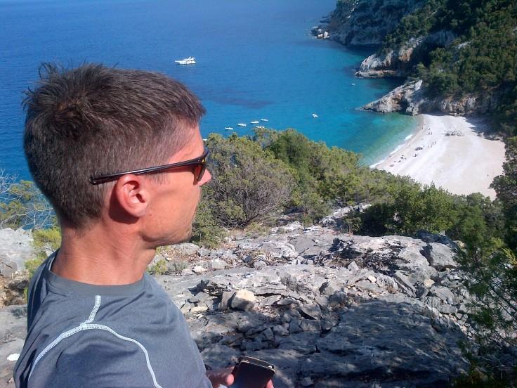 Blick auf Cala Sisine
