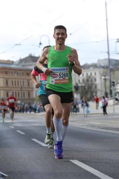 Unterwegs am Wien Marathon