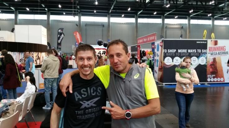 Marathon Expo - Vortrag von Christian Schiester