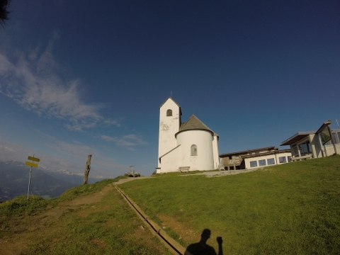 Die Kirche auf der Hohen Salve (1828m)