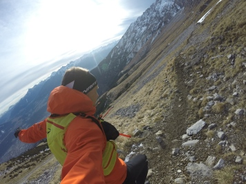Trails auf 2000m Seehöhe