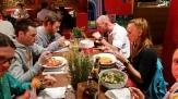 Tiroler Abend in Mailand. Mit Sophia, Fredi, Christian, Stephan, Tom, Meex