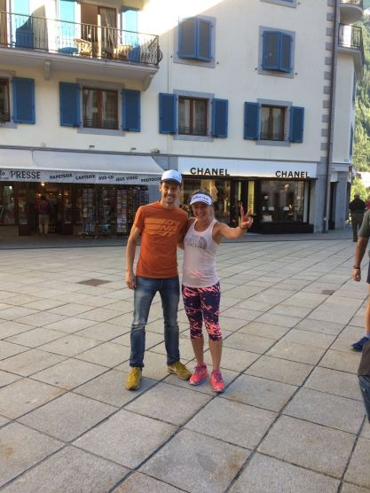 UTMB: Fernanda Maciel (BRA) bei The North Face Mountain Athletics