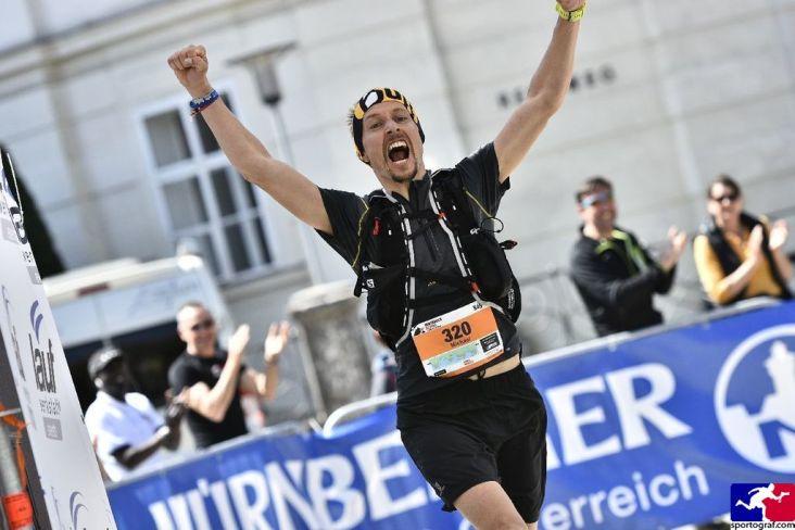 Innsbruck trailrunning Festival. Platz 2 auf der 65km Strecke