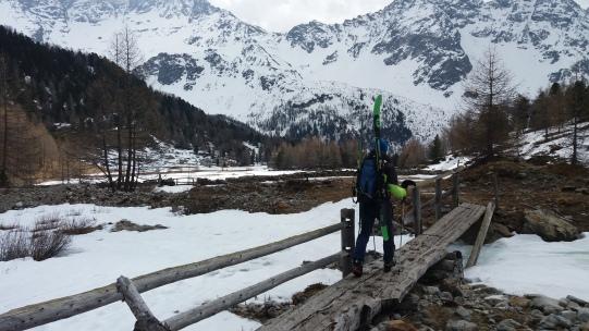 Zurück im Val di Campo