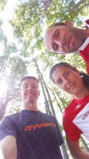 Streckenbesichtigung mit Karin Freitag und Robert Gruber
