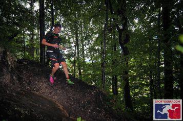 Downhill Rutschpartie vom Spitzelstein (Foto: Sportograf)
