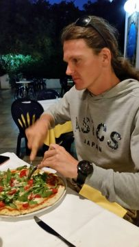 Endlich gibts Pizza, Wichtig vor jedem Rennen