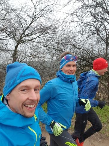 Trails Erkunden mit Hannes und Tom