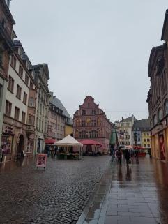Stadtplatz in Mulhouse