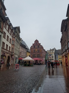 Stadtplatz in Mulhouse